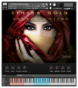 Zero-G Ethera Gold Sahara Voices GUI