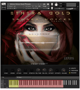 Zero-G Ethera Gold Sahara Voices interface