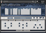 Interface In Session Audio Riff Generation