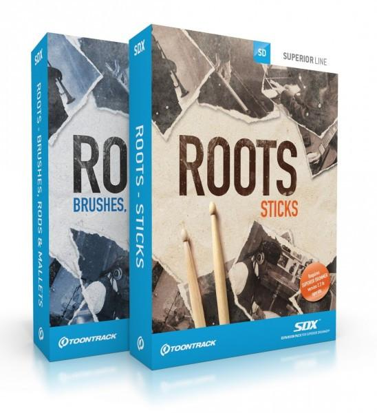 Buy Toontrack SDX: Roots BUNDLE (boxed)