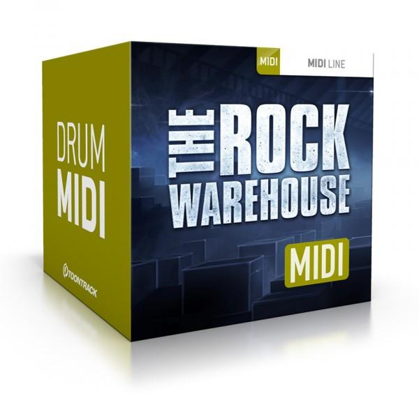 Download Toontrack The Rock Warehouse MIDI