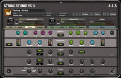 AAS String Studio VS-3 Effects GUI