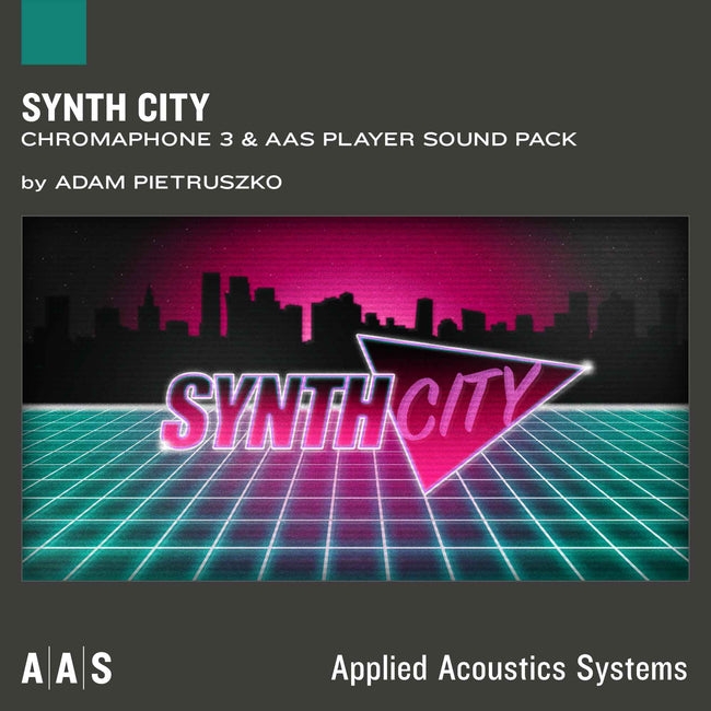 AAS Synth City Chromaphone 3 Sound pack