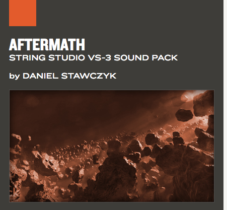 AAS Aftermath String Studio VS-3 Sound pack