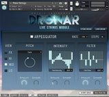 Interface Gothic Instruments DRONAR Live Strings