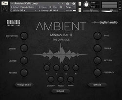 Big fish Audio Ambient Minimalism 2 The Dark Side GUI