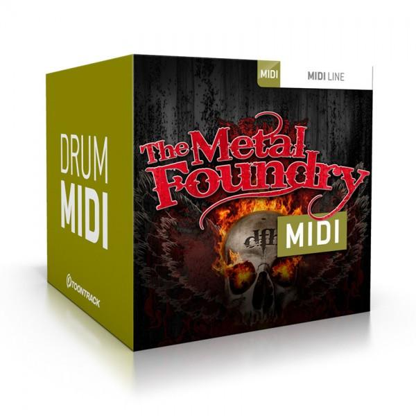 Download Toontrack The Metal Foundry MIDI
