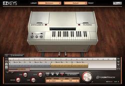 Interface Toontrack EZkeys Mellotoon