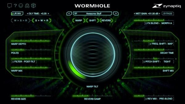 Zynaptiq Wormhole Audio Effects Processor