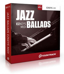 Download Toontrack EZkeys Jazz Ballads MIDI Pack