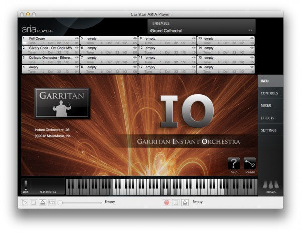 Download Garritan Instant Orchestra
