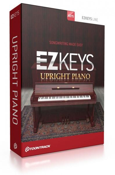 Buy Toontrack EZkeys Upright Piano (boxed)