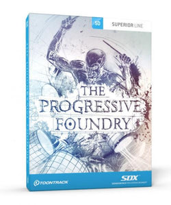 Download Toontrack SDX: Progressive Foundry