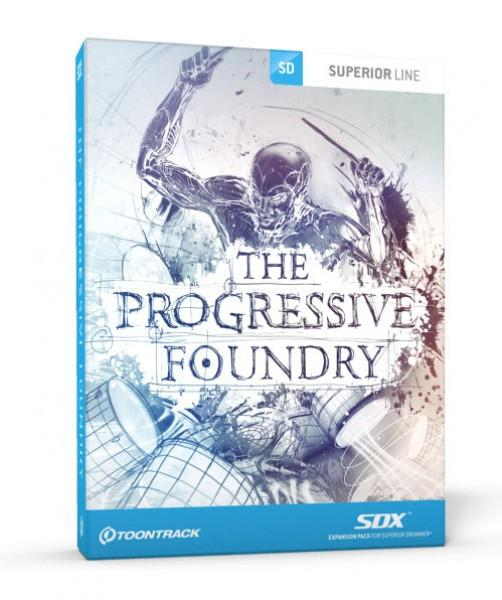 Buy Toontrack SDX: Progressive Foundry (boxed)