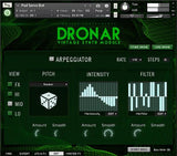 Interface Gothic Instruments DRONAR Vintage Synth