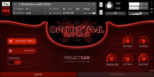 Buy ProjectSAM Orchestral Essentials 2