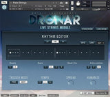 GUI Gothic Instruments DRONAR Live Strings