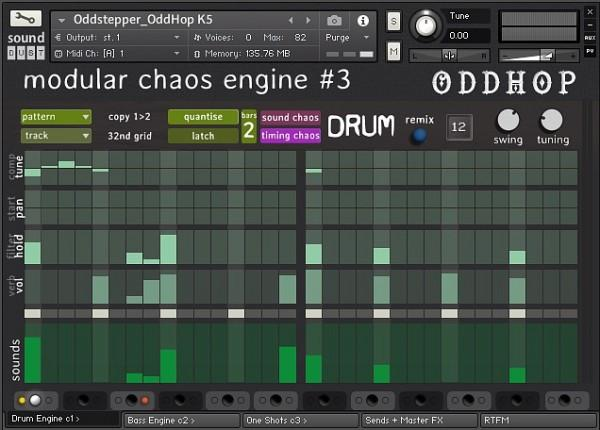 Download Sound Dust Modular Chaos Engine 3 OddHop