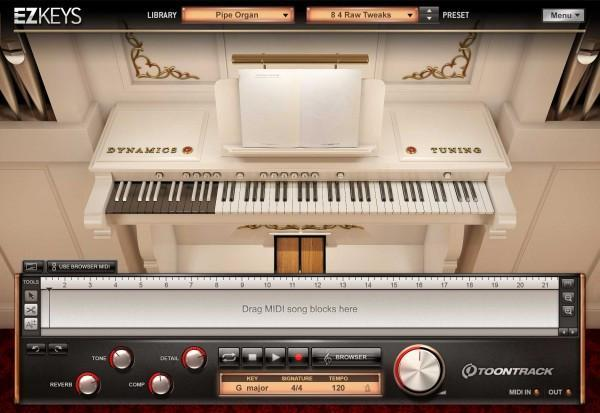 Buy Toontrack EZkeys Pipe Organ
