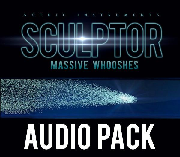 Download Gothic Instruments SCULPTOR Massive Whooshes AUDIO pack