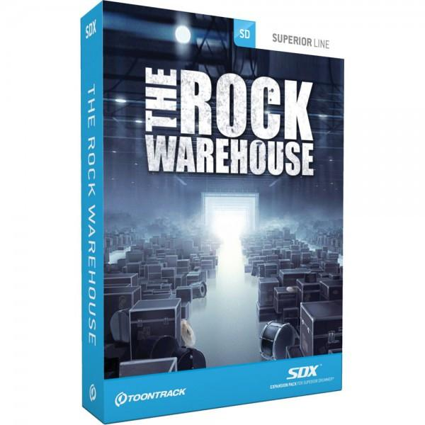 Buy Toontrack SDX: The Rock Warehouse (boxed)