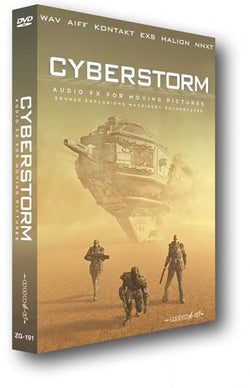 Download Zero-G Cyberstorm - Audio FX for Moving Pictures