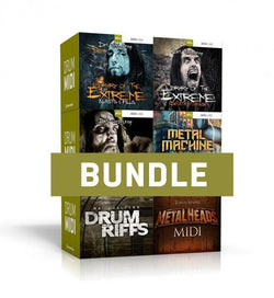 Download Toontrack Metal Drums MIDI 6 Pack