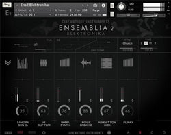 Cinematique Instruments Ensemblia 2 Elektronika GUI Mixer