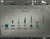 Cinematique Instruments Ensemblia 2 Percussive GUI View