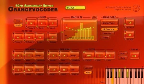 Download Zynaptiq Orange Vocoder