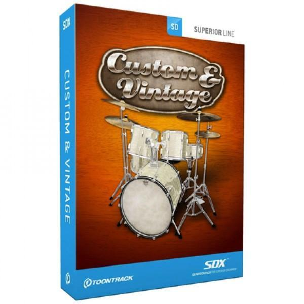 Download Toontrack SDX: Custom & Vintage