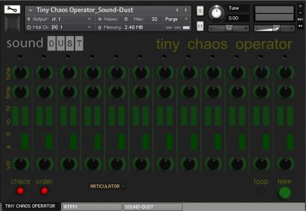 Download FREE Sound Dust Tiny Chaos Operator