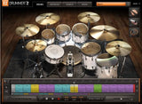 GUI Toontrack EZdrummer 2 Songwriters Edition