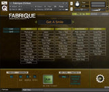 Cinematique Instruments Fabrique Urban GUI