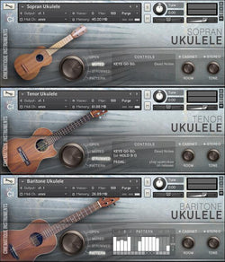 Cinematique Instruments Ukelele Trio GUI