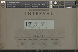 Cinematique Instruments Interval GUI Main View