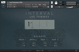Cinematique Instruments Interval Les Femmes GUI Main View