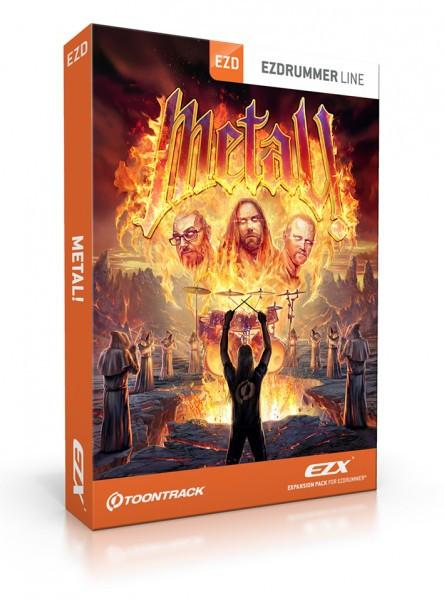 Buy Toontrack EZX - Metal! (boxed)