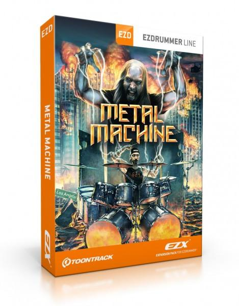 Buy Toontrack EZX - Metal Machine (boxed)