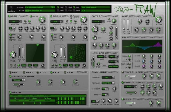 Rob Papen Raw EDUCATION