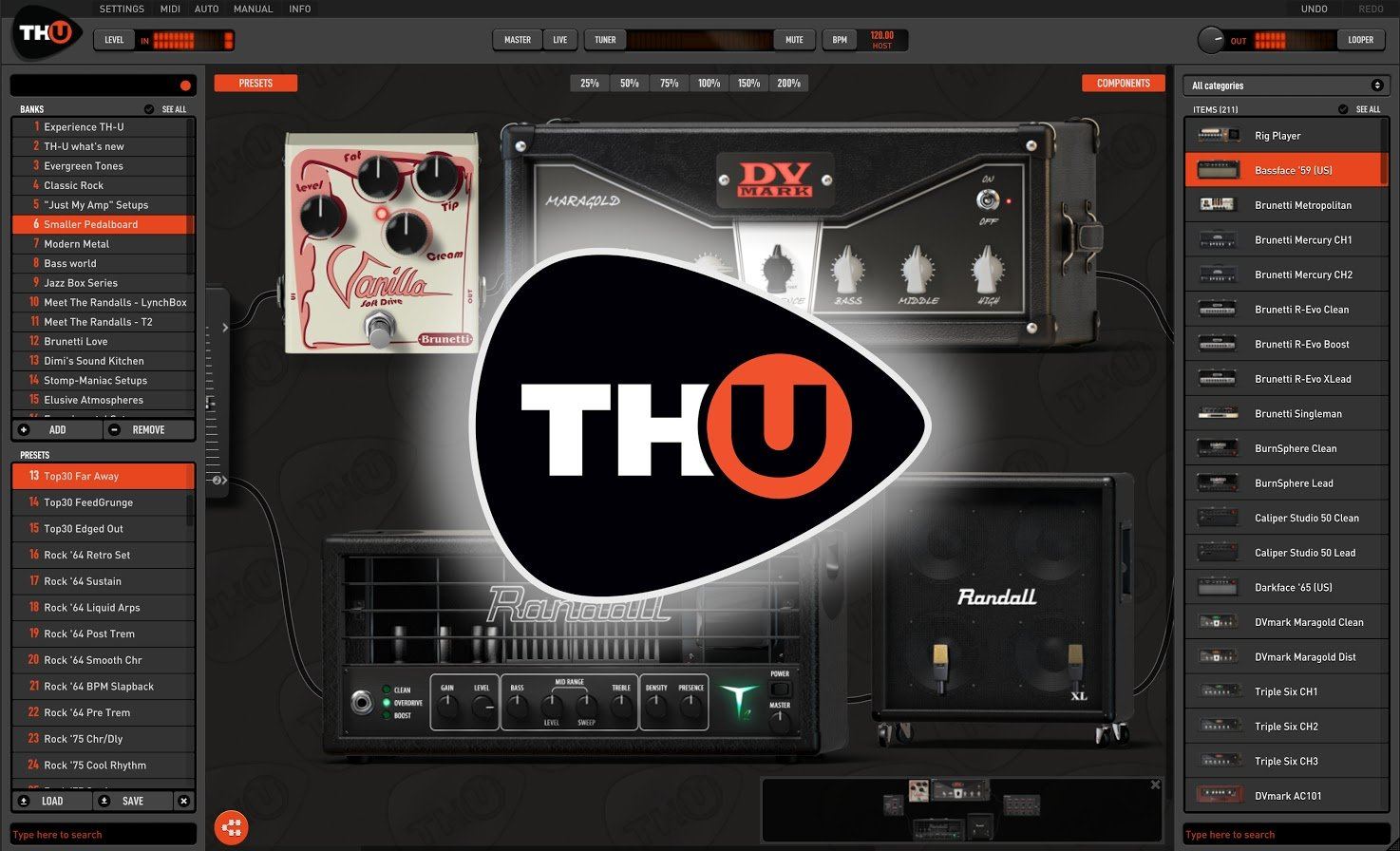 Overloud TH-U Full Guitar Amp Simulator – Time+Space