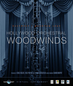 EastWest Hollywood Orchestral Woodwinds Cover