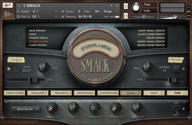 Buy Big Fish Audio SMACK Claps, Snaps, Stomps