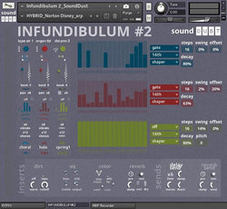 sound dust infundibulum 2 kontakt sound design gui 1