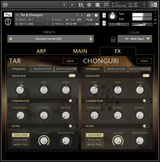 Sonuscore Origins Vol 7 Tar & Chonguri interface