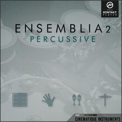 Cinematique Instruments Ensemblia 2 Percussive Cover Art