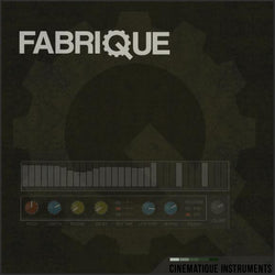 Cinematique Instruments Fabrique Cover Art