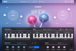 ujam BeatMaker Kandy interface