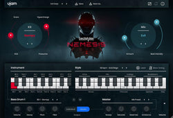 ujam BeatMaker Nemesis interface