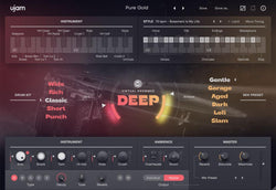 ujam Virtual Drummer DEEP interface